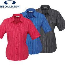 Career Striped Regular Size Tops & Blouses for Women