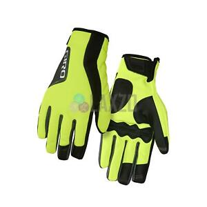 Giro Ambient 2.0 Cycling Gloves Full Finger Insulated 2017 L - Yellow/Black