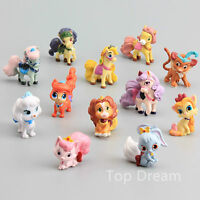 Pets Cake Toppers Princess Figures Ponies Cute Horse Kids Toy Gift 12pcs Set