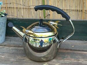 Rare 1999 Kamenstein World of Motion Rocket Teapot Tea Kettle Never Used!