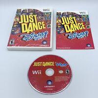 Just Dance: Disney Party (Nintendo Wii, 2012) Complete With Manual CIB