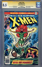 X-Men #101 CGC 8.5 (SS) Cockrum, Autographed by Stan Lee, Origin & 1st Phoenix