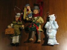 Kurt Adler A Christmas Carol Collection by Charles Dickens Set of 3