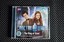 DR WHO EXCLUSIVE ADVENTURE - 11TH DOCTOR THE RING OF STEEL AUDIO CD