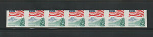 US ERROR Stamps:#2280c Flag, Yosemite. Imperf & miscut PS7 #5 PNC VF MNH $550.+
