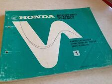 Honda Teile Liste Roller Spacy Elite 250 CH250 CH250F Ch Edition 1. 1984