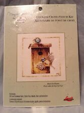 MARJOLEIN BASTIN COUNTED CROSS STITCH KIT Bird On Birdhouse New