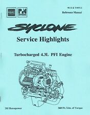 GMC Syclone 4.3L Turbocharger Engine Suspension Intercooler Reference Manual