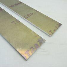 "New listing .375"" thick 3/8 Aluminum 6061 Plate 4.625"" x 29.875"" Long Qty 2 sku 180342*"