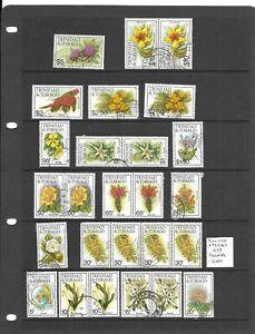 Trinidad & Tobago 1983 Flowers selection used