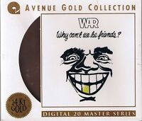 War Why can`t we be Friends 24 Karat Gold CD Avenue Gold Collection NEU OVP Seal