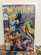 Wolverine # 4 - 1989