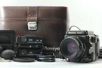 [N Mint] Mamiya RZ67 Pro II + Sekor Z 110mm F2.8 W + Filmback x3 From Japan 184