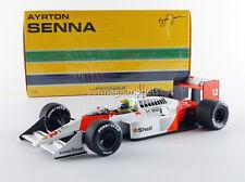 Minichamps McLaren MP4/4 World Champion 1988 Senna #12 1/18 Scale New Release!