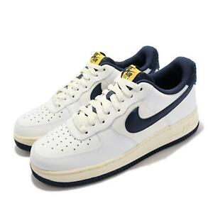 Nike Air Force 1 07 LV8 AF1 White Navy Yellow Men Unisex Casual Shoes DO5220-141