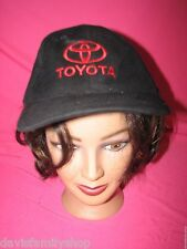 Toyota Vehicle Car Truck Black & Red Baseball Cap Hat Adjustable