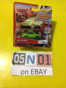 Disney Pixar Cars NICK STICKERS Radiator Springs Classic Only at Toys R Us (FB01