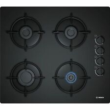 Bosch Gas Hob 60cm Black 4 Flammig Gas Cooktop Autark Built-In Hob New