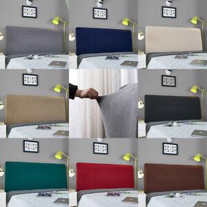 1/2pcs Elastic Bed Headboard Cover Bed Head Slipcover Protector L 1.2m1.5m1.8m