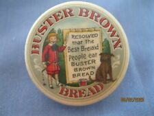 1905 Buster Brown Bread Advertisement Pin made by The W.E. Long Co.