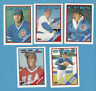 Chicago Cubs  1988 TOPPS TRADED TEAM  SET GRACE ROOKIE  10 Cards W/ USA GRIFFEIN