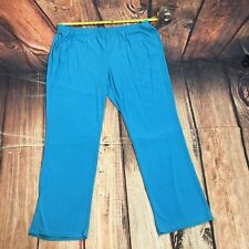 Anthony Originals Jersey Knit Pants Plus Size 2X Elastic Pull On Stretch - C106