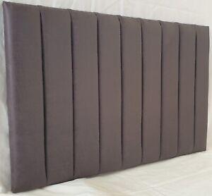 "Leather Headboard Side Bar Divan Upholstered 20"" - Free Delivery"