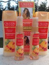 6 CALGON Hawaiian Ginger Body Mists 2 oz & Body Washes 6 oz & Bath Beads 6 oz ea