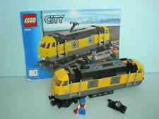 LEGO City Eisenbahn #7939 - Lokomotive mit Bauanleitung (ohne Antriebselemente)!