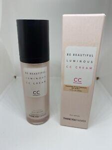 NEW Thank You Farmer Be Beautiful Luminous CC Cream 40 ml / 1.40 fl.oz