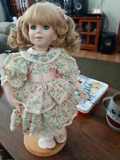 Toy Girl Doll Porcelain Collectors Doll