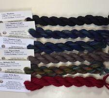 Gloriana Lorikeet Dark Alley fine wool embroidery quilting needlepoint stitch