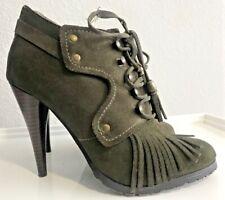 NYLA Green Tasseled Heels Size 7