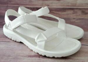 Teva Mens Sandals Size 13 Hurricane Drift Foam White