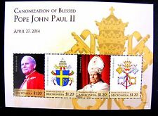 CANONIZATION OF POPE JOHN PAUL II MNH OG (SEE NOTE)