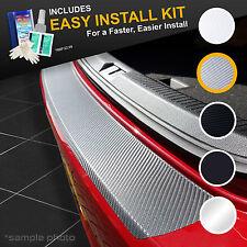 Skoda Fabia ESTATE 2007 - 2015 Grey Carbon Vinyl Bumper Protector + KIT!