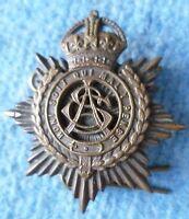 Badge- VINTAGE British Army Service Corps Cap Badge KC (BRONZE) maker J & Co