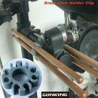 1×Gunking 4 Pairs Silicone E Drum Stick Bracket Clip Part for Roland V TD Yamaha
