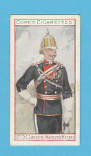 MILITARY  -  COPE  BROS.  -  RARE EMINENT BRITISH OFFICERS CARD NO.  14  -  1908