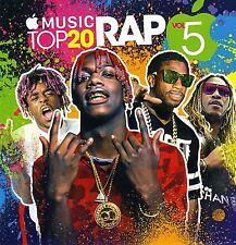 "UZI VERT, DAE DAE, GUCCI, 21 SAVAGE-  ""APPLE MUSIC TOP 20 RAP 5"" MIX CD.NOV 2016"