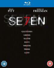 Seven starring Brad Pitt,Morgan Freeman,Gwyneth Paltrow [Blu-ray]