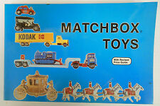 1983 MATCHBOX CARS Die cast TOYS with REVISED PRICE GUIDE  NANCY SCHIFFER