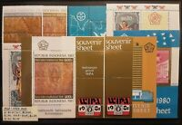 INDONESIA 1968-1983 stamps and s/s in XF/VF condition MNH