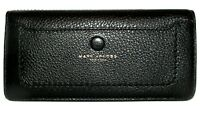 MARC JACOBS Black Leather Bifold Clutch Wallet NWT
