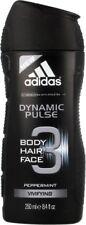Adidas Dynamic Pulse Body Hair, Face Wash Peppermint 8.4 oz 400ml