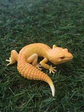 Kaiyodo Capsule Q Leopard gecko Lizard PVC mini pvc figurine figure Albino
