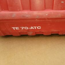 Case Hilti Te 70-Atc For Hammer Drill Chipping Hammer Used.