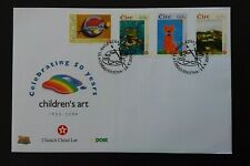 Ireland 2004 SG1652/5 Winning Entries in Children's Painting Competition FDC