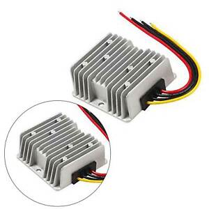 8-40V to 12V 10A DC Voltage Stabilizer Car Power Supply Regulator Waterproof T5