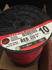 Copper Industries 500Ft 600V THHN/THWN-2 SOLID #10 Wire model 325328 Red